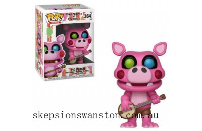 Five Nights at Freddy's Pizza Simulator Pigpatch Funko Pop! Vinyl Clearance Sale