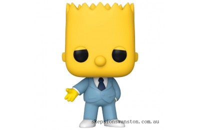 Simpsons Mafia Bart Funko Pop! Vinyl Clearance Sale