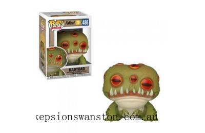 Fallout 76 - Radtoad Games Funko Pop! Vinyl Clearance Sale
