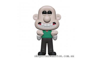 Wallace & Gromit Wallace Funko Pop! Vinyl Clearance Sale