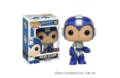 Mega Man - Ice Slasher EXC Funko Pop! Vinyl Clearance Sale