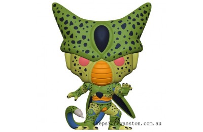 Dragonball Z Cell First Form Funko Pop Vinyl Clearance Sale