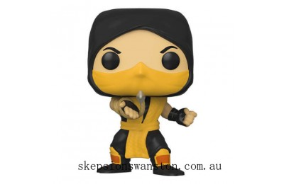 Mortal Kombat Scorpion Funko Pop! Vinyl Clearance Sale