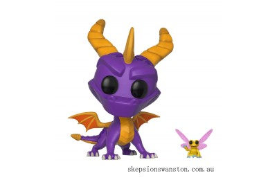 Spyro the Dragon with Sparx Funko Pop! Vinyl Clearance Sale