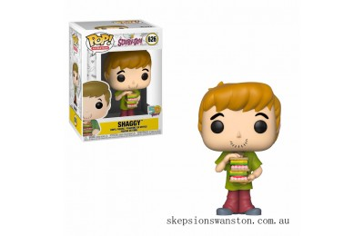 Scooby Doo - Shaggy w/ Sandwich Animation Funko Pop! Vinyl Clearance Sale