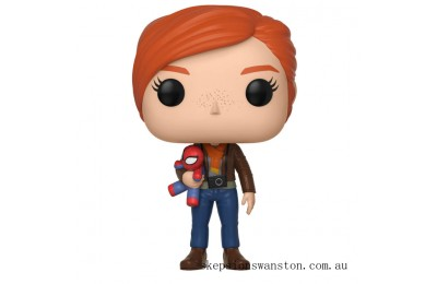 Marvel Spider-Man Gamerverse Mary Jane with Plush Funko Pop! Vinyl Clearance Sale