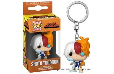 My Hero Academia Todoroki Funko Pop! Keychain Clearance Sale