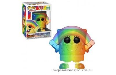 Pride 2020 Rainbow Spongebob Squarepants Funko Pop! Vinyl Clearance Sale