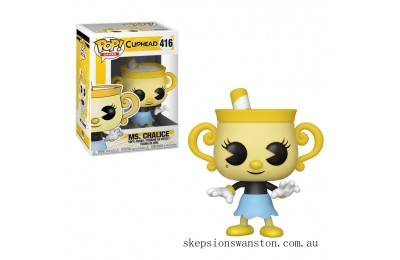 Cuphead Ms. Chalice Funko Pop! Vinyl Clearance Sale