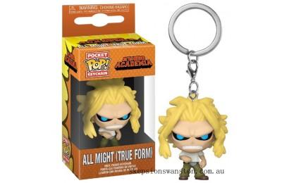My Hero Academia All Might (True Form) Funko Pop! Keychain Clearance Sale