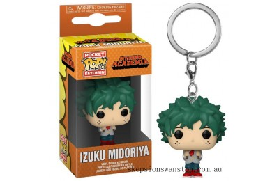 My Hero Academia Deku in School Uniform Funko Pop! Keychain Clearance Sale