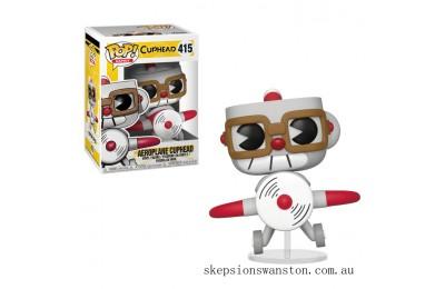 Cuphead Cuphead in Aeroplane Funko Pop! Vinyl Clearance Sale