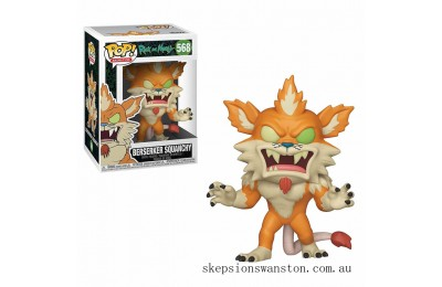 Rick and Morty Berserker Squanchy Funko Pop! Vinyl Clearance Sale