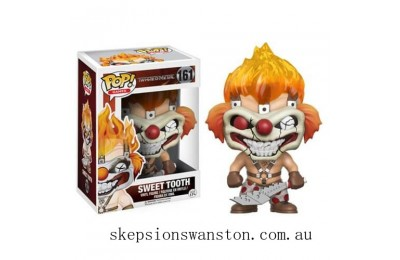 Twisted Metal Sweet Tooth Funko Pop! Vinyl Clearance Sale