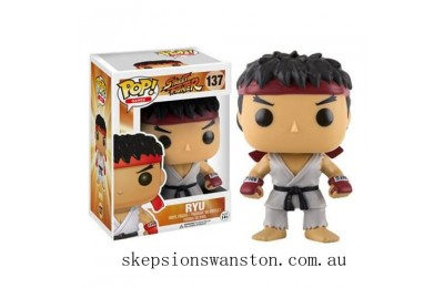 Street Fighter Ryu Funko Pop! Vinyl Clearance Sale
