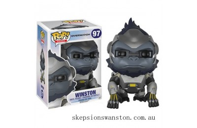 Overwatch Winston 6-Inch Funko Pop! Vinyl Clearance Sale