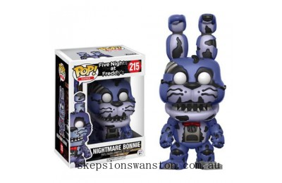 Five Nights at Freddy's Nightmare Bonnie Funko Pop! Vinyl Clearance Sale