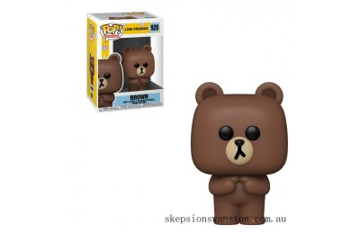 Line Friends Brown Funko Pop! Vinyl Clearance Sale