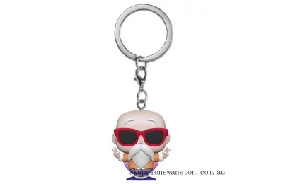 Dragonball Z Master Roshi (Peace Sign) Funko Pop Keychain Clearance Sale