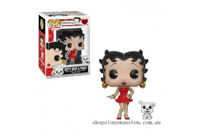 Betty Boop with Pudgy Funko Pop! Vinyl Clearance Sale