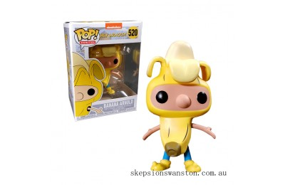 Nickelodeon Hey Arnold Banana Arnold EXC Funko Pop! Vinyl Clearance Sale