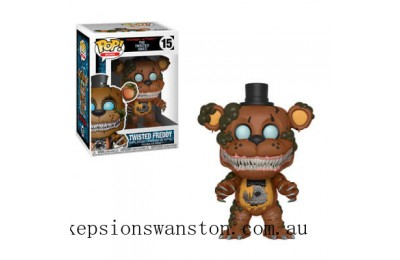 Five Nights at Freddy's Twisted Freddy Funko Pop! Vinyl Clearance Sale