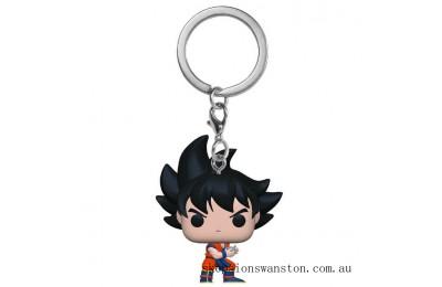 Dragonball Z Goku w/Kamehameha Funko Pop Keychain Clearance Sale