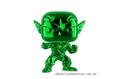 Dragon Ball Z Piccolo Green Chrome ECCC 2020 EXC Funko Pop! Vinyl Clearance Sale