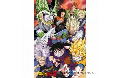Dragon Ball Z Cell Saga - 24 x 36 Inches Maxi Poster Clearance Sale