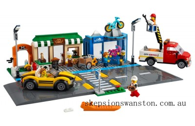 Discounted Lego Shopping Street