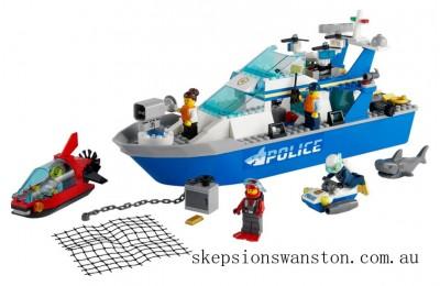 Genuine Lego Police Patrol Boat