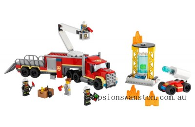 Outlet Sale Lego Fire Command Unit