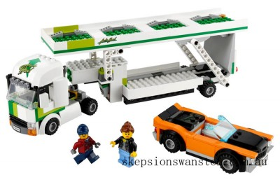Genuine Lego Car Transporter