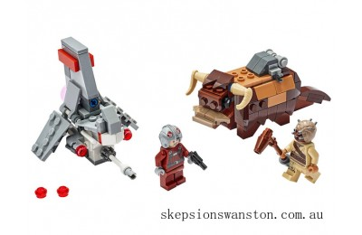 Clearance Lego T-16 Skyhopper™ vs Bantha™ Microfighters