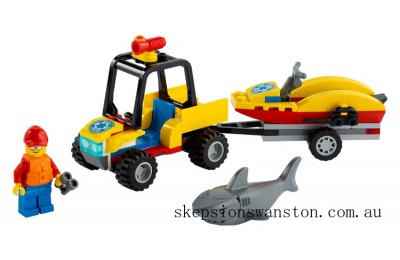 Genuine Lego Beach Rescue ATV