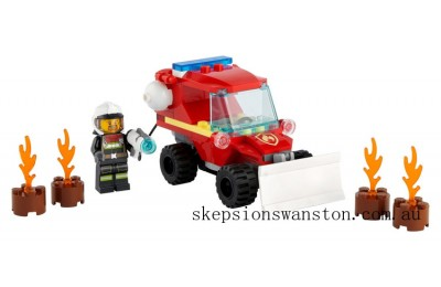 Genuine Lego Fire Hazard Truck