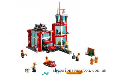 Genuine Lego Fire Station