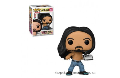 Pop! Rocks Steve Aoki Funko Pop! Vinyl Clearance Sale