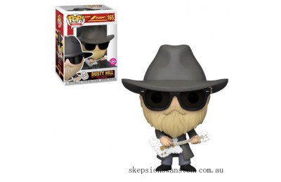 Pop! Rocks ZZ Top Dusty Hill Flocked Funko Pop! Vinyl Clearance Sale