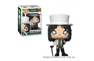 Pop! Rocks Alice Cooper Funko Pop! Vinyl Clearance Sale