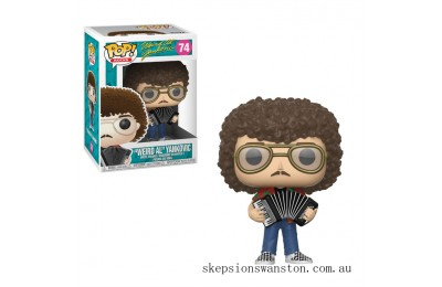 "Pop! Rocks """"Weird Al"""" Yankovic Funko Pop! Vinyl Clearance Sale"