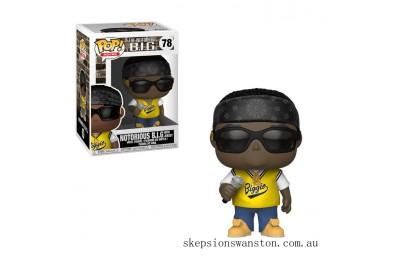 Pop! Rocks Notorious B.I.G. in Jersey Funko Pop! Vinyl Clearance Sale