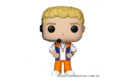 Pop! Rocks NSYNC Justin Timberlake Funko Pop! Vinyl Clearance Sale