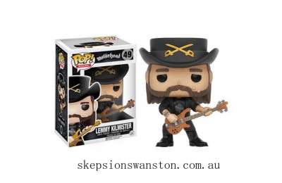 Lemmy Kilmister Funko Pop! Vinyl Clearance Sale