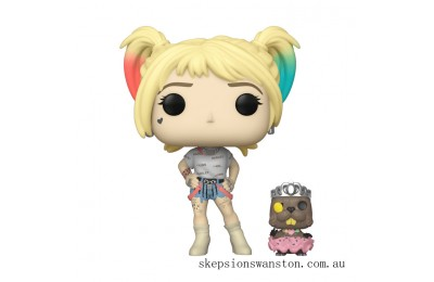 Birds of Prey Harley Quinn with Beaver Funko Pop! Vinyl Clearance Sale