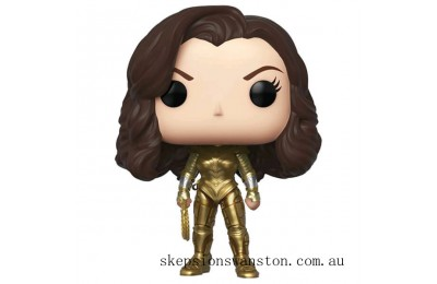 DC Comics Wonder Woman with Golden Armour and No Wings EXC Funko Pop! Vinyl Clearance Sale