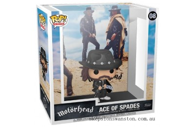Motorhead Ace of Spades Pop! Album Figure Clearance Sale