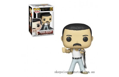 Queen Freddie Mercury 1985 Funko Pop! Vinyl Clearance Sale