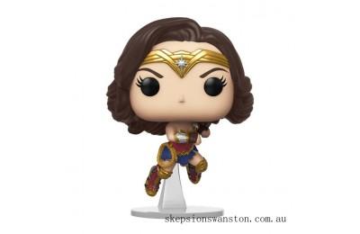 Wonder Woman 1984 Wonder Woman Flying (Metallic) Funko Pop! Vinyl Clearance Sale