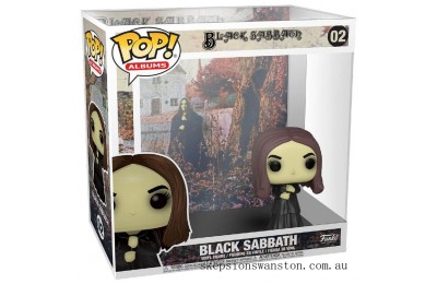 Pop! Rocks Black Sabbath with Case Funko Pop! Figure Clearance Sale